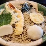 ひらのや - えびおろし(麺1.5倍)