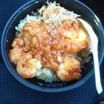 大阪王将 - それでも作って食べた「中華一番!(エビチリチャーハン)」は美味しかったです