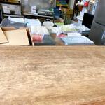 石崎ぎょうざ店 - 厨房