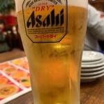 龍海閣 - 生ビール