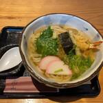 圓山 - 料理写真:天ぷらうどん 750円税抜