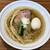 ら~麺 安至 - 白だし醤油ら~麺(ストレート細麺)(700円)+味玉(100円)