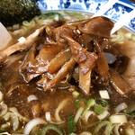 拉麺屋 日昇亭 - 料理写真:★此の支那竹が軟らかくて激ウマなのョ❤️★