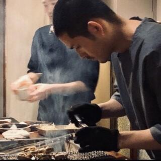 ろばたの料理人たち