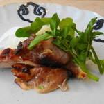 八雲茶寮 - 大山鶏の味噌焼き