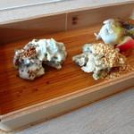 八雲茶寮 - 前菜3種