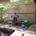 130081041 - 御座敷からの風情ある御庭