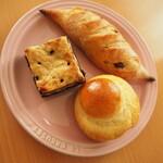 デュデスタン - 料理写真:ブリオッシュなど
