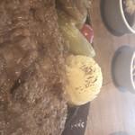 ハンバーグファクトリー - マッシュポテトアップ