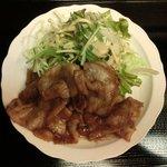 13009108 - 豚肉生姜焼 800円 の豚肉生姜焼