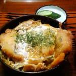 常盤仙食堂 - カツ丼(大盛りです)