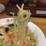 大阪王将 - 麺アップ