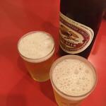 本家 アロチ 丸高 - * 瓶ビール 550円