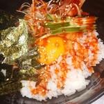 焼肉居酒屋 ちょあ - 韓流TKG(卵かけご飯)