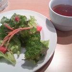 1301199 - サラダとスープ