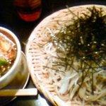蕎麦作 つじ田 - 肉そば 400g
