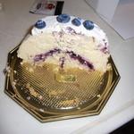 ラ・ペーシュ・ブラン - スフレのチーズケーキ②
