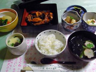 佐久ホテル - 鯉旨煮定食