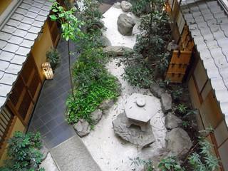 佐久ホテル - 2階から見下ろしたところです