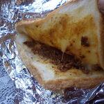 丸美屋自販機コーナー - トーストサンド(カレーチーズ)