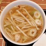 アンナンブルー・ブンカフェ - スープ