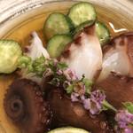鮨 清水 - タコ酢
