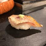 鮨 清水 - ノドグロ炙り