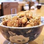 光村 - 料理写真:かき揚丼
