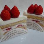 130116684 - 苺のショートケーキ・ブラン&ルージュ