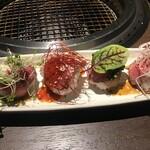松阪牛 焼肉のGANSAN - 手毬寿司
