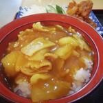 花屋うどん - 日替わりセット(カレー丼)