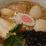 中華そばムタヒロ - ワハハ煮干し特製そば+味タマ♪