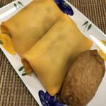 万年いなり亀広 - 料理写真:茶巾ずしとお稲荷さん