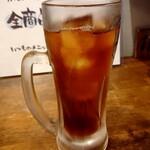 味噌とんちゃん屋 江南ホルモン - ウーロン茶(250円+税)