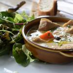 Le Pain Quotidien - 若鶏と野菜のクリーム煮 1680円