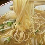 中華そば 陽気 - 久々の麺リフト(^^♪