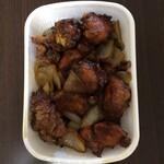 小笹飯店 - 鶏肉ゴロゴロ