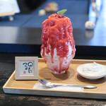 のんてぃ - 料理写真:いちごレアチーズ + マスカルポーネ☆