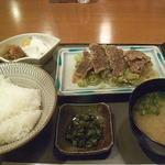 HATSUMOMIJI - 鯨竜田揚げ定食