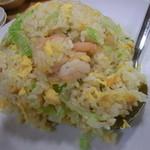 西安刀削麺 - エビ炒飯