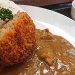 ごはん処 あいさい - 料理写真:コロッケカレー