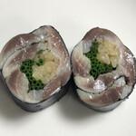 大阪天満宮 鮨とよなが - 鰯海苔巻