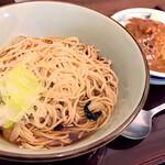 船堀そば 文殊 - 料理写真: