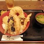 結の箸 - 天丼