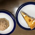 130161335 - モンブラン、チーズケーキ