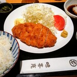 味喜庵 - 三元豚おろしとんかつ定食1100円税込み