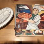 Pizzeria e Osteria Codino - テイクアウト箱