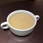アリユメ - シシリアンライスに付いてきたスープ