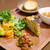 ほんのちょっと - スペインオムレツと彩り野菜のランチプレート 1100円