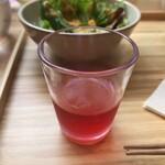 神保町 kururi - 鶏そばセットの果実酢